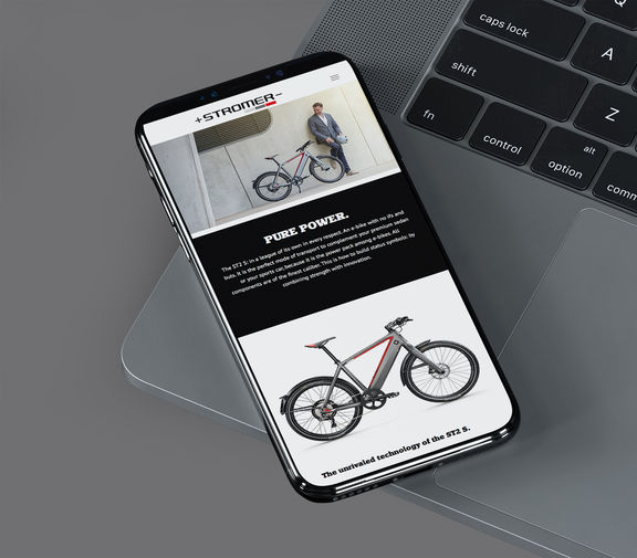 Stromer website 2017 sept