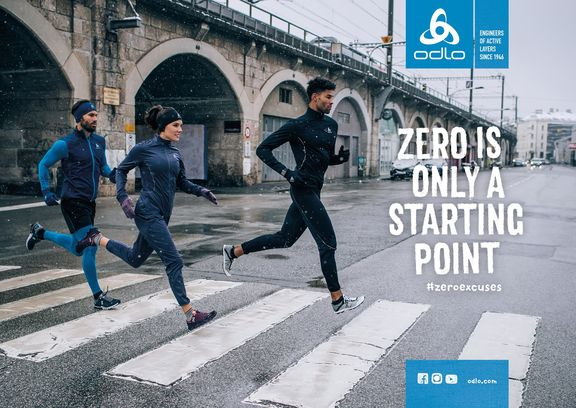 odlo fw18 key visual running zeroexcuses