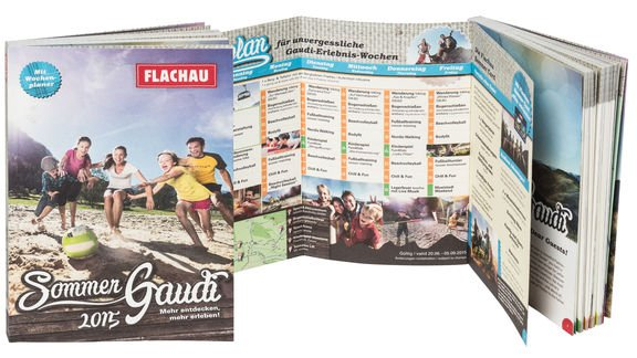 summer brochure flachau