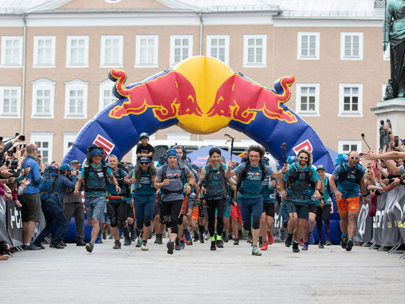 red bull xalps race start