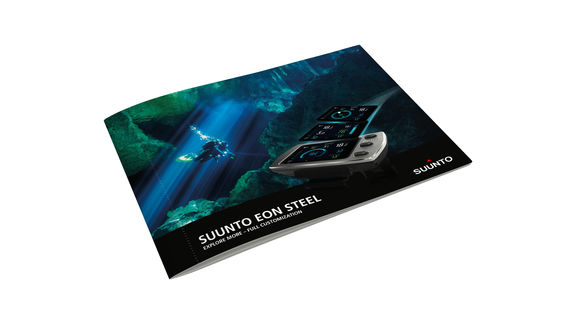 brochure cover suunto