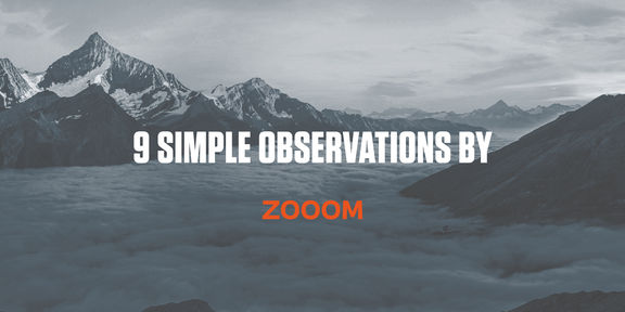 9 simple observations by zooom cover image 1