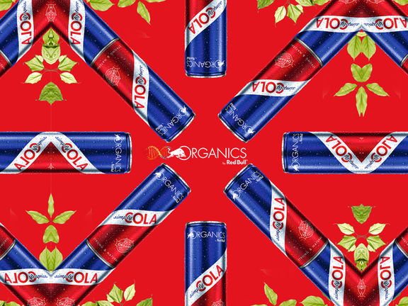 red bull organics cola kaleidoscope zooom