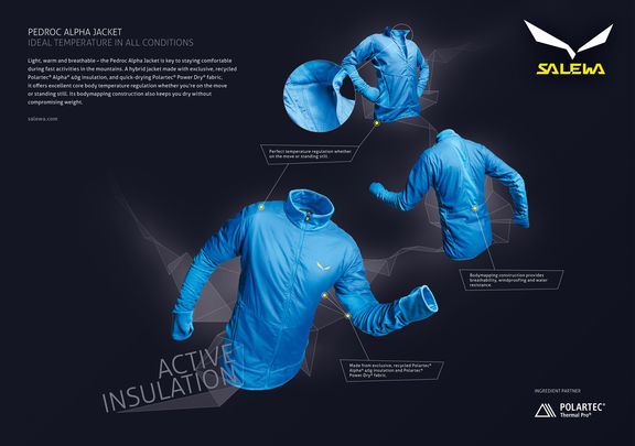 jacket ad salewa