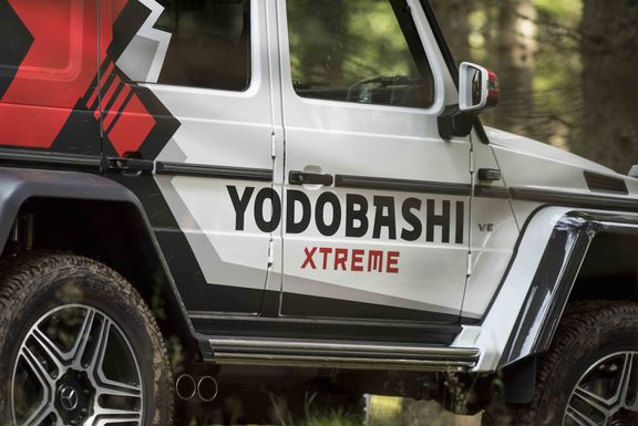 Yodobashi Xtreme Delivery Car zooom